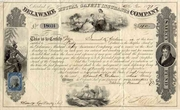 Delaware Mutual Safety Insurance Co Stock 1872
