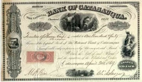 Bank of Catasauqua Stock 1869