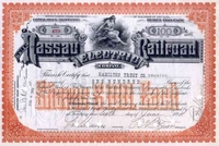 Nassau Electric RR Stock 1896