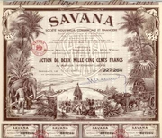 Savana Societe Industrielle Bond 1951