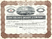 Hazard Wharf Stock (Baltimore, MD) 19__