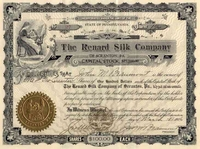 Renard Silk Co Stock 1906