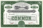 Bendix Aviation Corp Specimen Stock