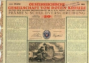 Austrian Red Cross Bond 1916