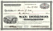 San Domingo Gold Mining Stock 1898
