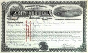 City of Montreal Debenture 1937