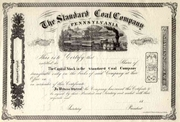 Standard Coal Co Stock 18__