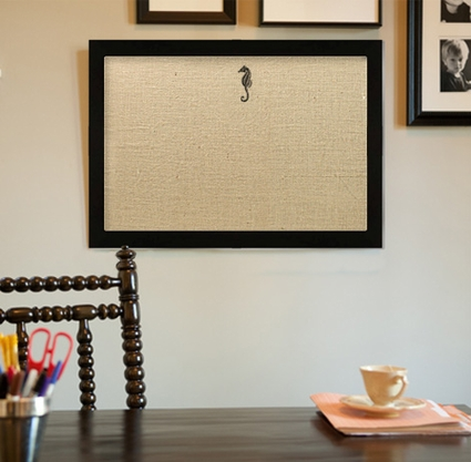 Embroidered Boards - Black and White Frame