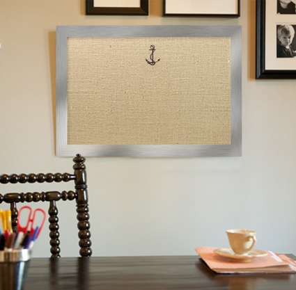 Embroidered Boards - Gold and Silver Frame