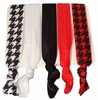 Hair Ties Red Houndstooth