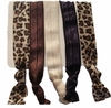 Hair Ties - Brown Cheetah