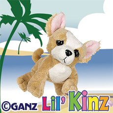 HS104 LIL KINZ CHIHUAHUA WebKinz UNUSED CODE ONLY - NO PLUSH - Delivered By Email