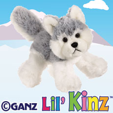 HS120 LIL KINZ HUSKY WebKinz UNUSED CODE ONLY - NO PLUSH - Delivered By Email