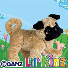 HS105 LIL KINZ PUG WebKinz UNUSED CODE ONLY - NO PLUSH - Delivered By Email