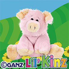 HS002 LIL KINZ PIG WebKinz UNUSED CODE ONLY - NO PLUSH - Delivered By Email