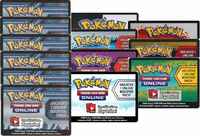 BAKERS DOZEN - 13 Pokemon Online Booster Codes (6 Plasma Storm, 7 Booster Pack Credits) ALL FOR SPECIAL PRICE