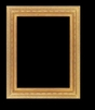 Art - Picture Frames - Oil Paintings & Watercolors - Frame Style #641 - 24x36 - Light Gold - Ornate Frames