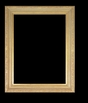 Art - Picture Frames - Oil Paintings & Watercolors - Frame Style #640 - 8x10 - Light Gold - Ornate Frames