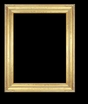 Art - Picture Frames - Oil Paintings & Watercolors - Frame Style #638 - 8x10 - Light Gold - Gold  Frames