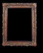 Art - Picture Frames - Oil Paintings & Watercolors - Frame Style #635 - 24x36 - Dark Gold - Ornate Frames