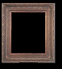 Art - Picture Frames - Oil Paintings & Watercolors - Frame Style #633 - 24x48 - Dark Gold - Ornate Frames
