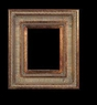 Art - Picture Frames - Oil Paintings & Watercolors - Frame Style #632 - 5x7 - Dark Gold - Ornate Frames
