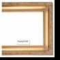 Picture Frames - Oil Paintings & Watercolors - Frame Style #1209 - 16X20 - Traditional Gold