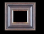 Art - Picture Frames - Oil Paintings & Watercolors - Frame Style #617 - 8x10 - Black & Gold - Black & Gold Frames
