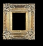 Art - Picture Frames - Oil Paintings & Watercolors - Frame Style #613 - 24x36 - Antique Gold - Ornate Verdigris Frames