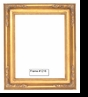 Picture Frames - Oil Paintings & Watercolors - Frame Style #1216 - 24X30 - Traditional Gold