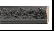 Custom Picture Frame Style #2088 - Ornate - Black Finish