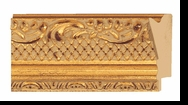Custom Picture Frame Style #2137 - Ornate - Gold Finish