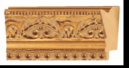 Custom Picture Frame Style #2139 - Ornate - Gold Finish