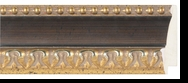 Custom Picture Frame Style #2152 - Ornate - Gold Finish