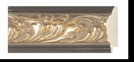 Custom Picture Frame Style #2165 - Ornate - Gold Finish