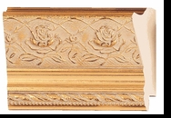 Custom Picture Frame Style #2168 - Ornate - Gold Finish