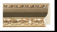 Custom Picture Frame Style #2178 - Ornate - Gold Finish