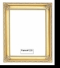 Picture Frames - Oil Paintings & Watercolors - Frame Style #1220 - 16X20 - Traditional Gold