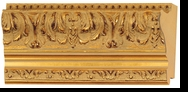 Custom Picture Frame Style #2189 - Ornate - Gold Finish