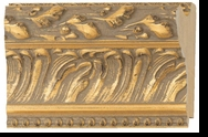 Custom Picture Frame Style #2201 - Ornate - Gold Finish