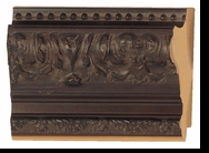 Custom Picture Frame Style #2213 - Ornate - Mahogany Finish