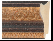 Custom Picture Frame Style #2214 - Ornate - Mahogany Finish