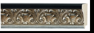 Custom Picture Frame Style #2255 - Ornate - Silver Finish