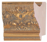 Custom Picture Frame Style #2180 - Ornate - Gold Finish