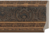 Custom Picture Frame Style #2195 - Ornate - Gold Finish
