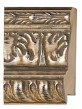Custom Picture Frame Style #2258 - Ornate - Silver Finish