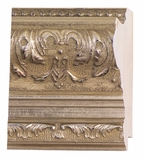 Custom Picture Frame Style #2259 - Ornate - Silver Finish