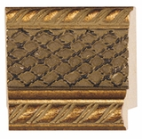 Custom Picture Frame Style #2149 - Ornate - Gold Finish
