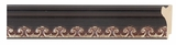 Custom Picture Frame Style #2209 - Ornate - Mahogany Finish