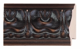 Custom Picture Frame Style #2263 - Ornate - Walnut Finish